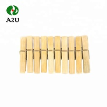 good cheap wholesale bamboo & wood clothespin