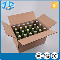 Brown carton wholesale cardboard liquor boxes for shipping