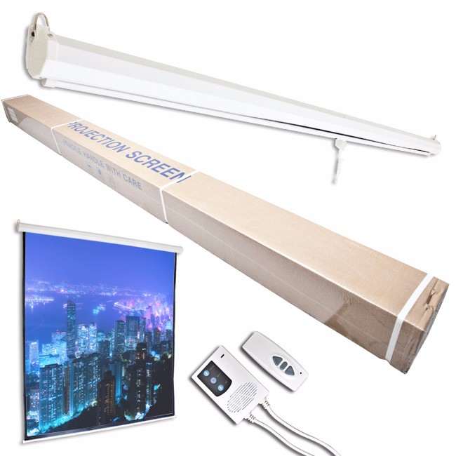 Wholesale 120 Inch Electric Motorized Hd Projector Screen
