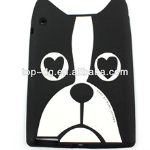popular cute kids design soft shockproof silicone rubber tablet case for ipad mini