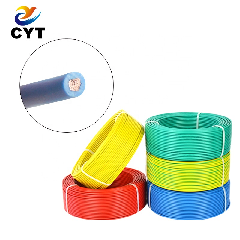 high quality flexible <strong>copper</strong> pvc insulation household 2.5 mm electrical wire