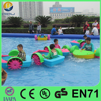 inflatable water pools good quality paddle boat for kids and adults