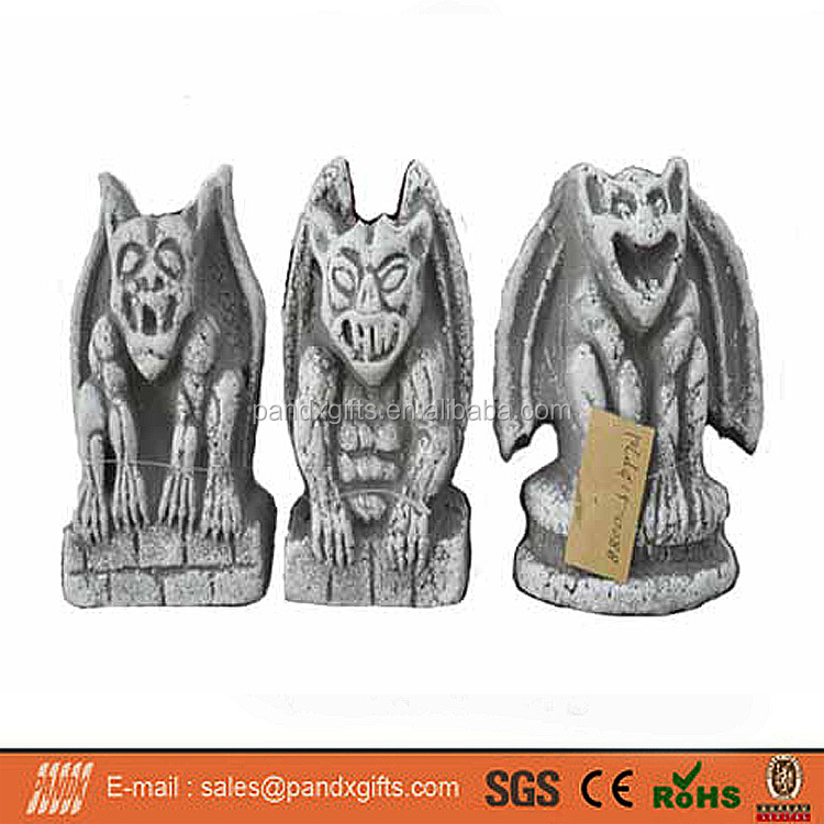 2017 HOT SAEL HALLOWEEN DECORATION FOAM TOMBSTONE 3 ASST PARTY DECORATIONS FOAM MONSTER OUTDOOR DECORATION