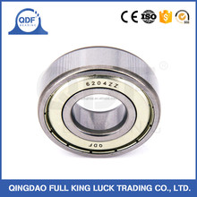 Motorcycle spare parts deep groove ball bearing 6200 series 6204 6203 zz 2rs with high quality