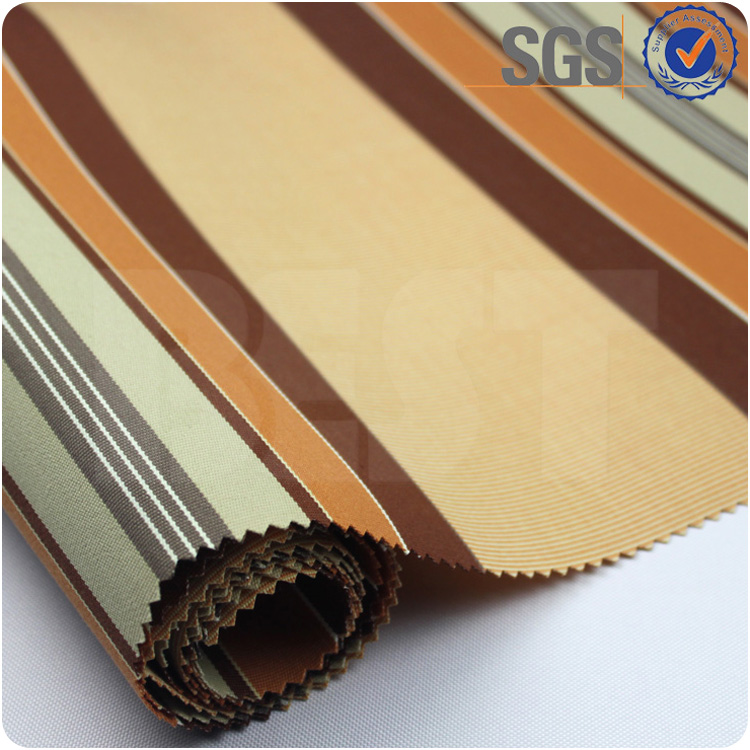 Best sale solution dyed awning spun polyester fabric for awning deck