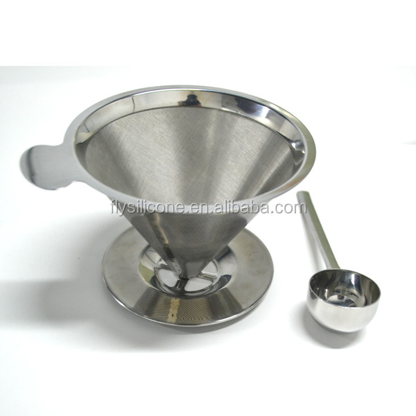 Coffee Maker With Metal Filter : Stainless Steel Reusable Coffee Filter And Single Cup Coffee Maker - Buy Reusable Coffee Filter ...