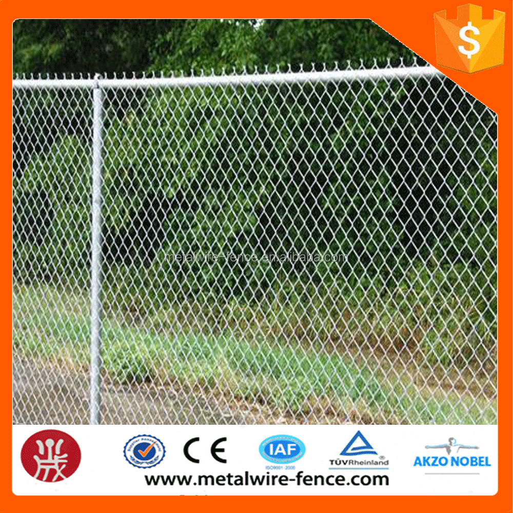 Wholesale durable high quality best price hebei stainless steel chain link fence/chain link