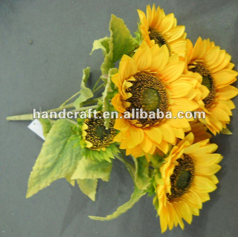 fake middle sunflower
