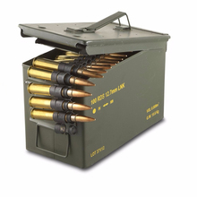 Black olive green metal 30 cal ammo can M19A1 M2A1 PA60 PA108 PA120 M548 50 cal ammo can