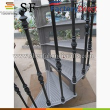 Model 1895 metal stair models/exterior metal stairs/ metal outdoor stairs