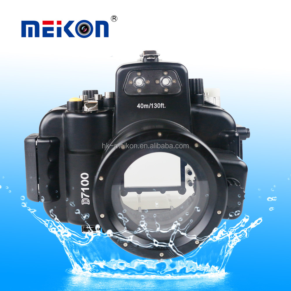 wholesale underwater camera housing diving waterproof camera case for nikon D7100