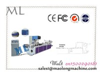 low error ML-P600 pvc zipper business card bag making machine