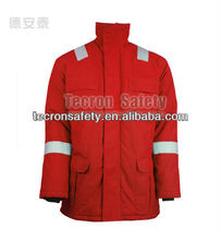 Flame resistant and water proof aramid insulated parka FR winter jacket