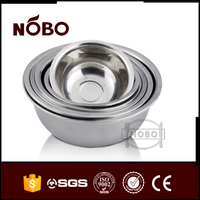 Original color stainless steel deep mixing bowls for Home,Restaurant,Hotel,Picnic