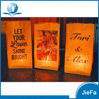 High Quality Paper Bag Luminaries