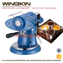 electric semiautomatic Italian coffee maker
