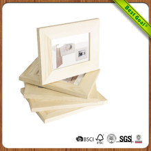 DIY Ready To Paint Unfinished Solid Wood Photo Picture Frames 5x7 Inch