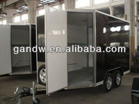 Hot sale ! Enclosed Cargo Trailer with barn door China BLV12