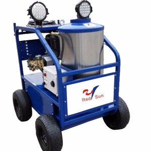 4000 psi hot pressure washer with Briggs 13.5hp engine auto car wash machine