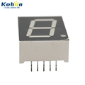 KHN10802ASR1D-1 one digit 0.8inch Red color common anode 7 segment LED display 7 segment