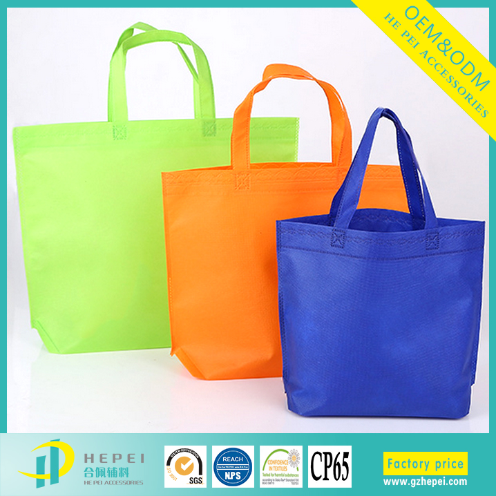 Oversize custom advertising logo shopping tote bag pp non woven bag