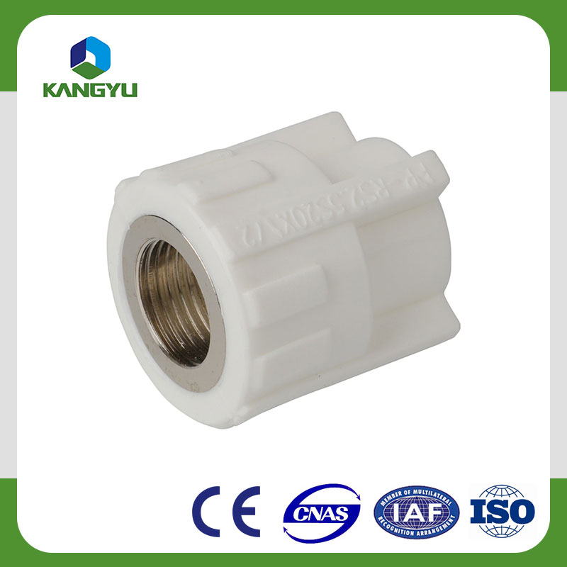 Internal threaded ppr socket ppr female coupling ppr fittings china supplier internal threaded ppr socket