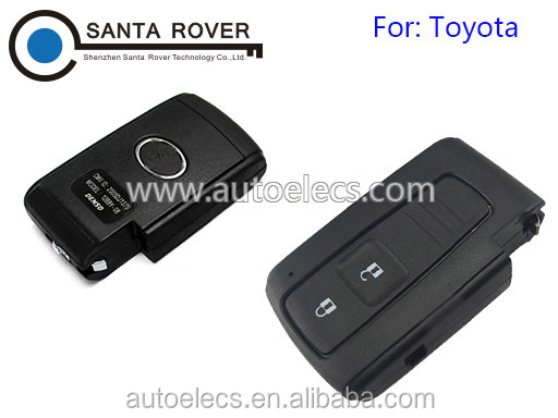 Car Key For Toyota Prius Smart Remote Key Case Cover 2 Button