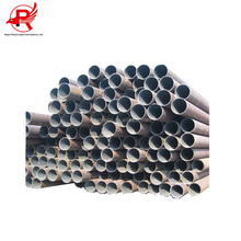 Material Q195A-Q345A alloy black carbon welded steel pipe in Tianjin mill