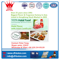 Halal flavor for Beverage and food with Halal Certification