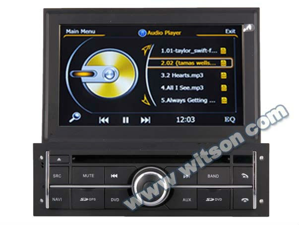 WITSON MITSUBISHI L200 car dvd player with Auto Rear Viewing Function