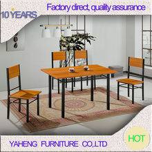 cherry color black frame high end furniture dining room sets 2012-1