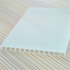 Silver colors 4mm twin wall polycarbonate sheet