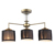 Original Design Black Fabric Shade Housing Ceiling Lights Hanging