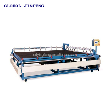 JFC-3624 Semi-automatic glass cutting machine with multi-cutters from China Manufacturer