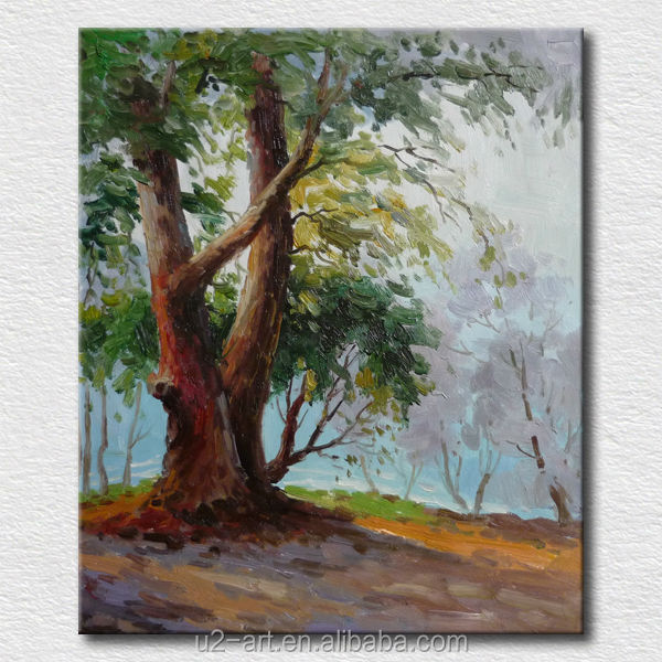 Wall hangings landscape art painting classes