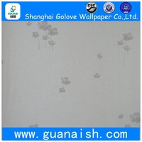 Discount updated natural pvc wallpaper for house