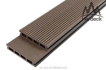 unti-slip no crack maintenance free wpc decking board
