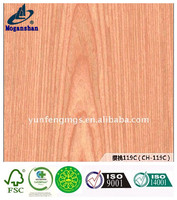 composite engineered wood veneer cherry 119c door veneer Fashionable Ordinary Materials