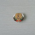 UAE country flag color basic lapel pin badges with fashion wheat head- shaped