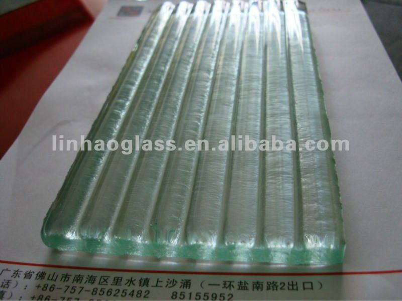 low iron cast glass