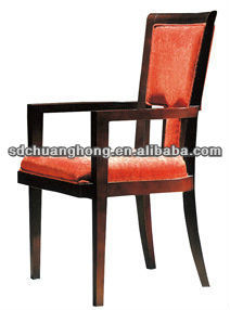 new deisign hotel restaurant chair in oak solidwood material