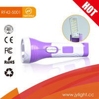any color China led rechargeable outdoor waterproof flashlight
