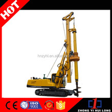 Crawler Mounted Hydraulic Interlocking Rotary Hole Down Pile Driver For Water Well