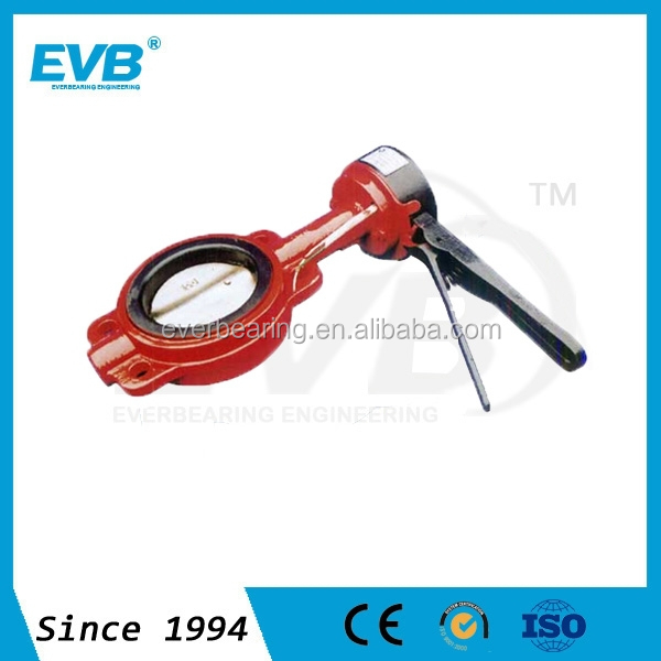 Industrial Fire Protection Wafer Butterfly Valve