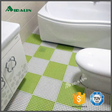 Commercial pvc anti skid custom shower mat