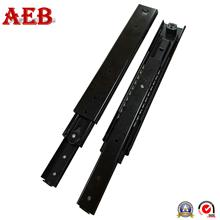 Channel tracks 2 ball roller linear slide rail full extension 58mm heavy duty push to open drawer slides