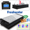freshwater led freshwater fish live led aquarium light red and green cool white 3ft 270w