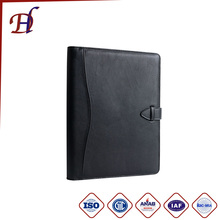 Wholesale expanding file clothes manila portfolio document menu conference embossing photo leather presentation file folder