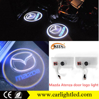 Wholesale price led car door logo light 12v 5W led ghost shadow light for Mazda Atenza 2010-2015