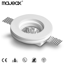 good sale trimless round GX5.3/GU10 gypsum ceiling lamp for project